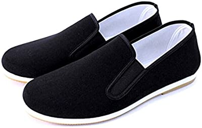 Andux artes marcial Kung Fu Tai Chi zapatos de Dichotomanthes Sole Old Beijing Unisex Zapatos TJX-01 Nergo