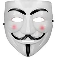Oramics Vendetta Maske Mask Guy Fawkes Anonymous Replika Demo Anti -Karneval Maske Anti Acta Demo