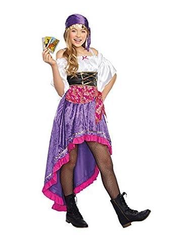 Gypsy Costume For Girls - SugarSugar Girls/Tween Gypsy Magic Costume, One Color,