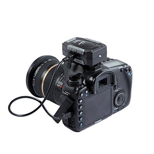 Marrex MX-G10 GPS - Sistema GPS Professional Geotagger per Canon EOS Digital Rebel T5i, T5, T4i, SL1, EOS-M, M2, 70D, 7D, 6D, 5D MK III, 1D-C & 1D-X DSLR senza schermo