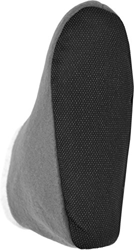 Warme Herren-Hausschuhe Slippers Pantoffeln aus Fleece mit ABS-Sohle Grau