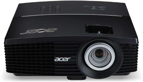 Acer P5207B Proiettore, Risoluzione XGA, Contrasto 10.000:1, Luminosità 4.000 ANSI, VGA/HDMI/USB, Nero