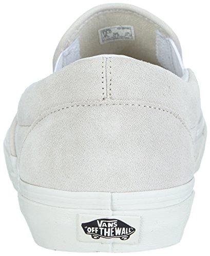 Vans U CLASSIC SLIP-ON Unisex-Erwachsene Sneakers Weiß ((Vintage) true white/blanc)