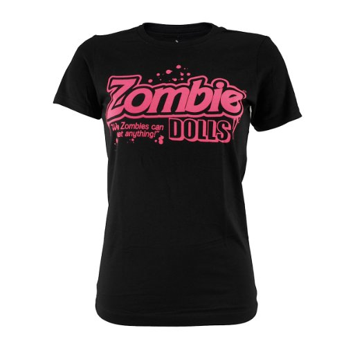 Dolls Zombie (Goodie Two Sleeves Girl-Shirt ZOMBIE DOLLS black)