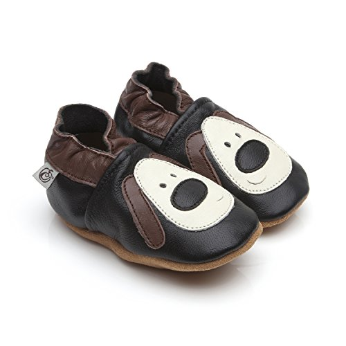 Soft Leather Baby Shoes Dog 12-18 months