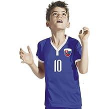 Slowakei Kinder Trikot - Hose Stutzen inkl. Druck Wunschname + Nr. BBB WM 2018