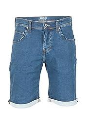 MUSTANG Herren Jeans Short Chicago - Blue Denim (680); W 31
