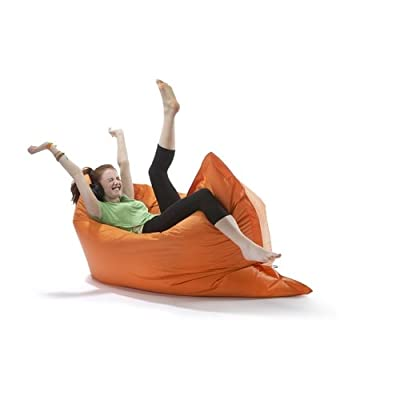 Large Big Hug Eco Indoor or Outdoor Bean Bag - Tangerine