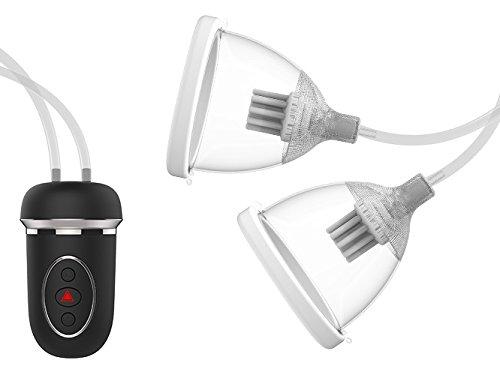 Brustsauger Automatische Vakuum Brustpumpe Brustvergößerung Nippelstimulator mit Rotationsfunktion