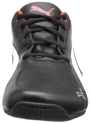 risk L red white high Schwarz black Puma Jr 01 Drift Unisex Kinder 304609 5 Cat Sneaker wSqt6pO