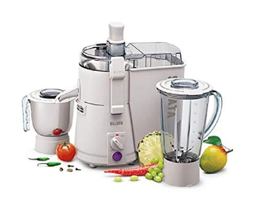 Sujata Powermatic Plus 900-Watt Juicer Mixer Grinder