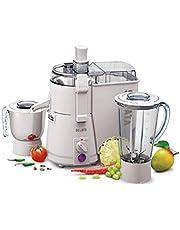 Sujata Powermatic Plus -Juicer Mixer Grinder (White)(Jar)
