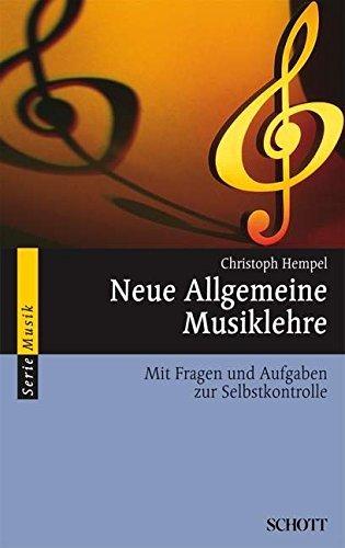 Neue Allgemeine Musiklehre by Christoph Hempel (2001-03-31)