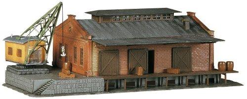 Faller 222180 - modellismo ferroviario, magazzino con gru