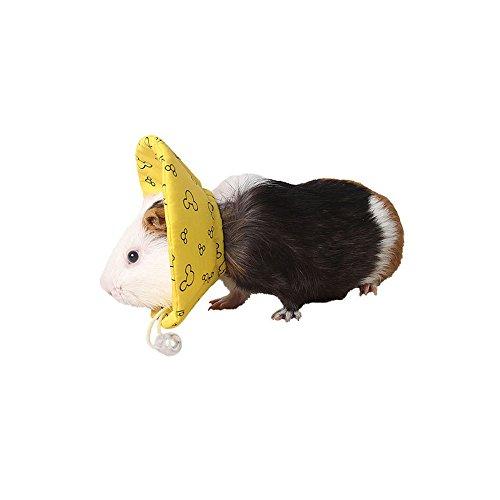 ASOCEA Recuperación del Animal doméstico Collar Cuello Corona Resistente contra la mordedura Cubierta para pequeños Animales Hamster hurón de Conejillo de Indias