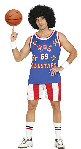 Cooler Basketball Spieler Karneval Fasching Party Kostüm Herren -
