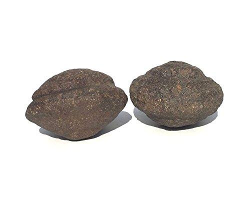 Moqui Marbles Paar Moquis Shaman Stones Schutzsteine U n i k a t | 09