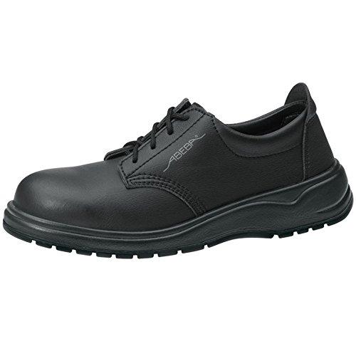 Abeba 1127Chaussures de travail Chaussures NOIR professionnelle, Lorica, bakterienhemmend antistatique CE en ISO 20347: 2012O2FO SRA Noir