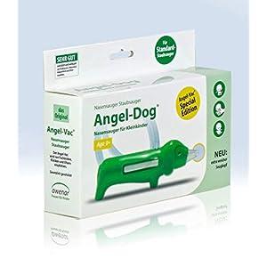 Angel-Vac Angel-Dog Nasensauger für Standard Staubsauger Mit extra weichem Saugkopf Das Original seit 30 Jahren