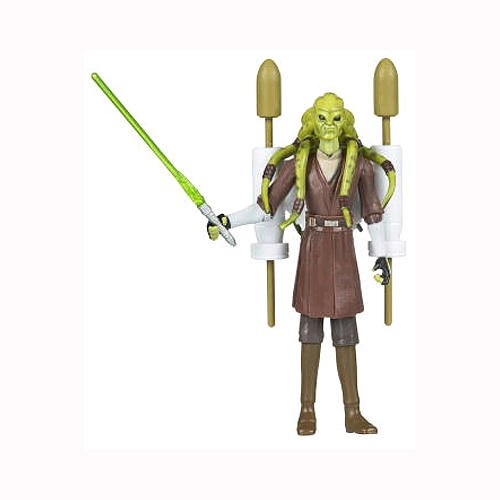 Hasbro Jedi Master Kit Fisto with Rocket Firing Backpack CW27 Star Wars - The Clone Wars