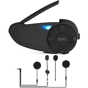 EJEAS Q7 Intercomunicador Para Motocicleta,