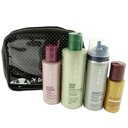 JOICO Reise Pflege Set gefärbtes Haar Shampoo Volume Conditioner Haarschaum Öl