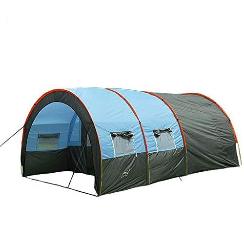 ERJQ Super - Team - Zelt Camping zelte Zimmer, kollektiven Camping - Tunnel der Gruppe, 5 bis 8 Personen (5-zimmer-zelt)