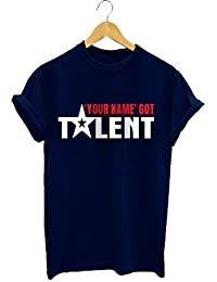 PERSONALISED Britians got talent t-shirt ADD YOUR NAME!