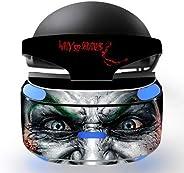 Wrap Decal Skin Cover Aufkleber für PSVR Playstation VR Headset - Joker