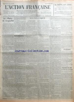 ACTION FRANCAISE (L') [No 145] du 25/05/1929 -...