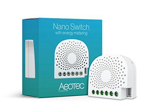 Aeotec Nano Switch with Energy Metering - Blanco