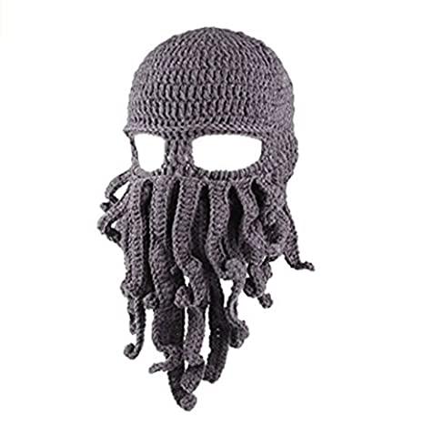 MISITE Octopus Hat Warm Hat Warm, Cool, Funny, Gifts, Skiing