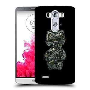 Snoogg Dope Shop Robot Designer Protective Back Case Cover For LG G3
