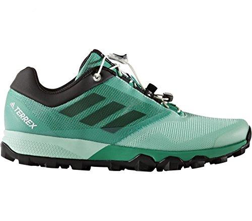 Adidas Terrex Trailmaker W, Zapatos de Senderismo para Mujer, Verde (Verde Verbas/Negbas/Versen), 38 EU