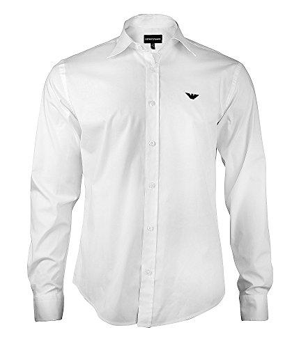 Armani -  Camicia Casual  - Uomo bianco X-Large