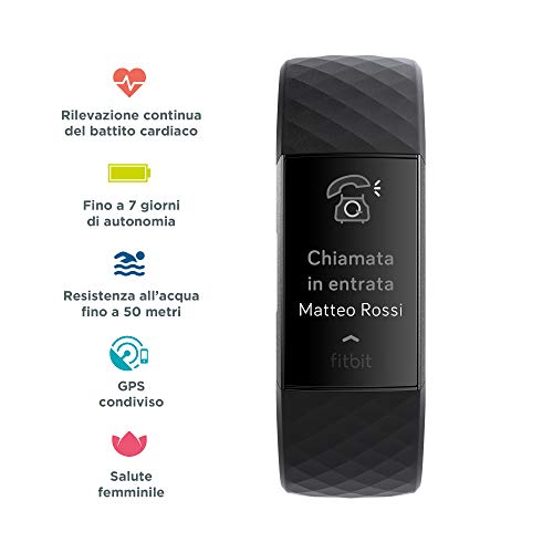 Zoom IMG-1 fitness tracker avanzato fitbit charge