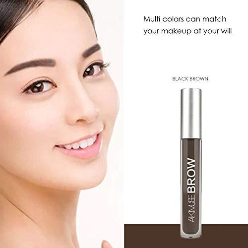 1c19cb00b74 RONDAA Eye Brow Shade with Brush Natural Long Lasting Waterproof Eyebrow  Gel Eyebrow Tint
