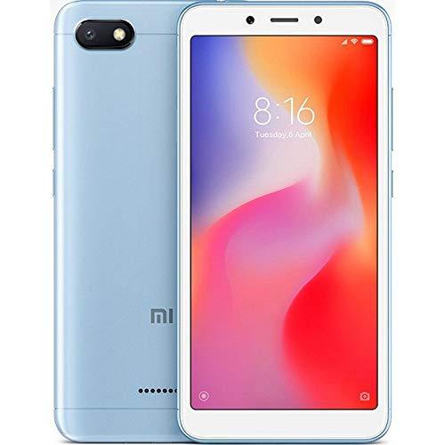 """Xiaomi Redmi 6A - Smartphone de 5.45"""" (Helio A22, RAM de 2 GB, Memoria de 32 GB, cámara de 13 MP, Android 8.1) Color Azul"""