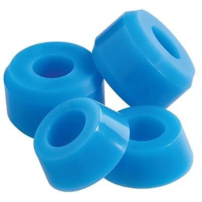 Enuff Kissen blau Skateboard Buchsen 96A–Medium (4Stück) Schnelle Lieferung.