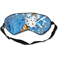 Eye Mask Eyeshade Wine Glass Painting Sleeping Mask Blindfold Eyepatch Adjustable Head Strap preisvergleich bei billige-tabletten.eu