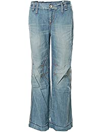 killah Pantalones vaqueros Boyfriend Style Baggy Pants flamy