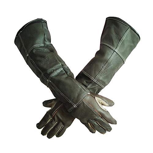 Tierhandschuhe Anti Biss Handschuhe Verdickte Langlebige Handschuhe für Haustiere Hundepflegehandschuhe für Katzen Hunde Schlange Wilde Tiere Schutzhandschuhe Gartenarbeit Anti-Scratch-Handschuhe