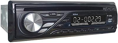 Homelink p-5931DIN EN Dash Audio estéreo de coche reproductor de DVD CD MP3Receptor de radio FM SD USB Aux 3pulgadas