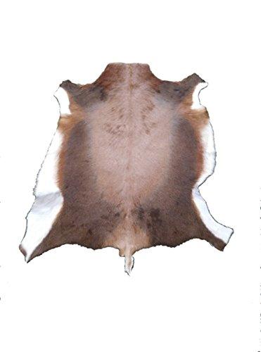 Zerimar Alfombra piel de blesbok africano Medidas: 110x90 cms