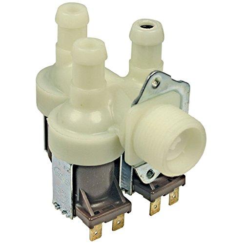 Spares2go Triple 3way solenoide 12L capacidad 14mm