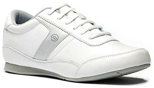 Toffeln Sport Flexible 0161 Antistatique Physio / Basket De Travail - Blanc Blanc