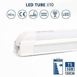 Anten T5 LED Fluorescent Tube Light 90 cm / 120 cm 16 W 1800 LM Natural White, White, 265.00V
