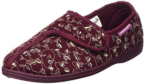 Dunlop Bluebell Womens Blumendruck Touch und Schließen Pantoffeln