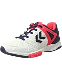 Womens Aerocharge Hb 200 Ws Fitness Shoes, Blanc/Bleu/Rose, 9 UK Hummel