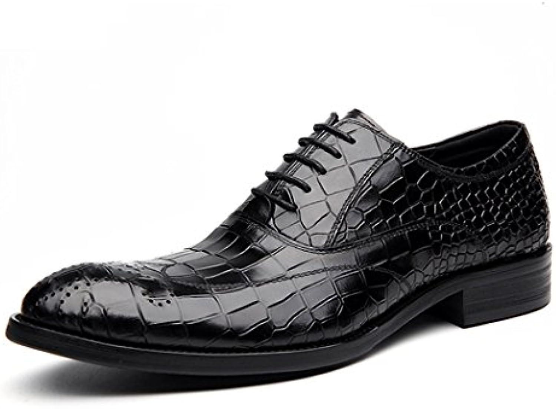 Zapatos de Hombre Spring Fall Comfort Oxfords Classic Style Zapatos de Caballero Formal Business -